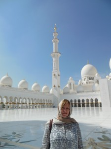 Grand Mosque on our Abu Dhabi Tour