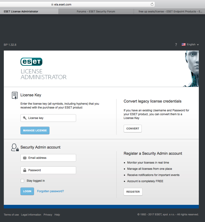 free up seats/license - ESET Endpoint Products - ESET