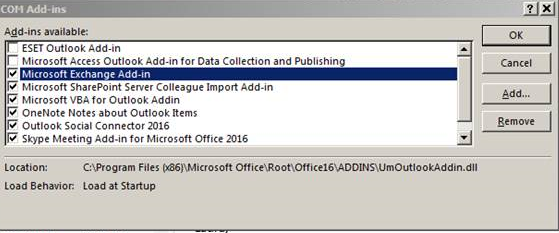 Outlook add-in problem - ESET Endpoint Products - ESET