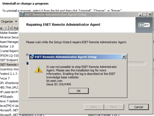 Eset cannot uninstall.PNG