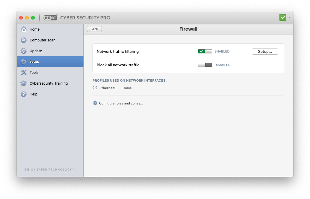 Firewall engine - ESET Cyber Security Pro (for Mac) - ESET Security