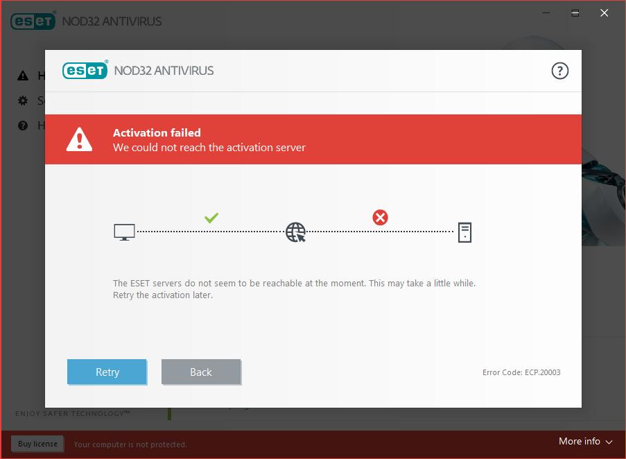 eset nod32 antivirus username and password free trial