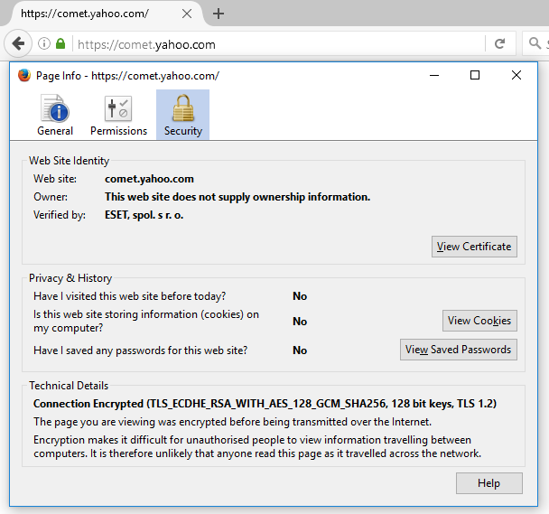 Help Untrusted Certificate Encrypted Network Traffic Several
