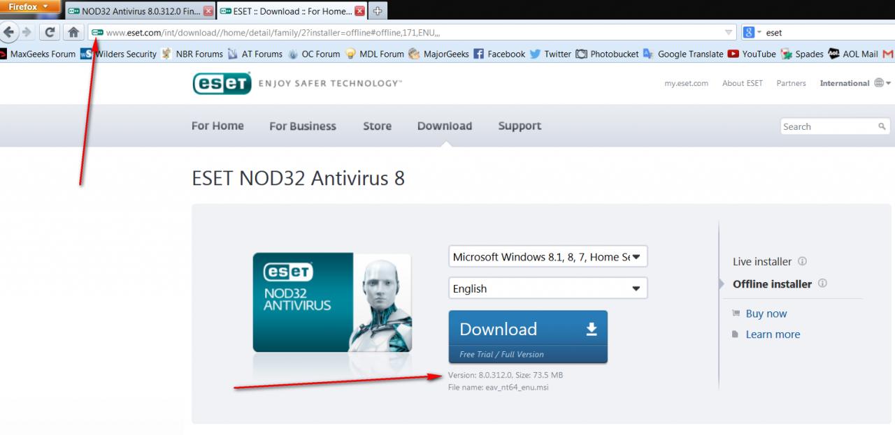 Nod32 Antivirus 8 0 312 0 Final Eset Nod32 Antivirus Eset