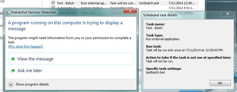 Run external application - ESET NOD32 Antivirus - ESET