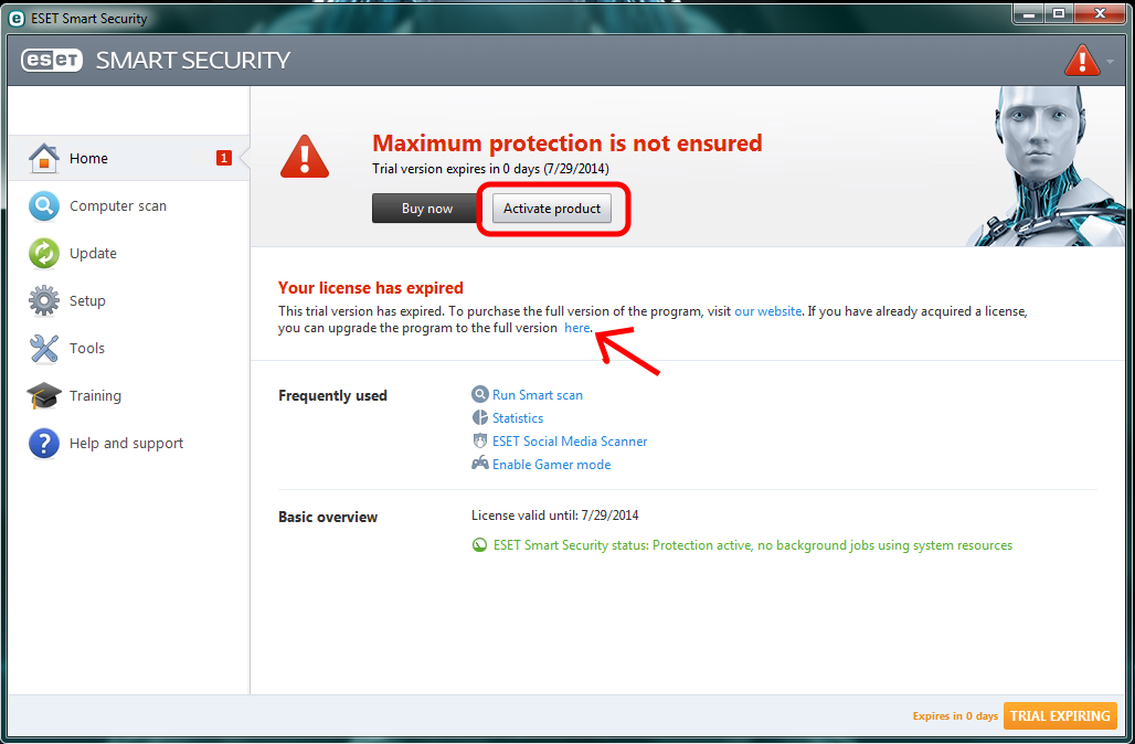 Smart Security Activation Key - ESET Internet Security & ESET Smart Security Premium - ESET Security Forum