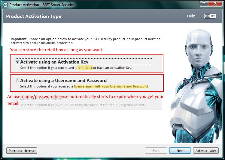 eset activation key 2014