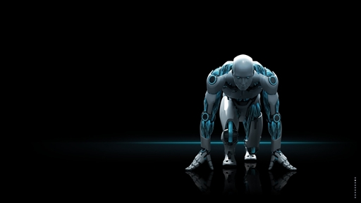 Picture gallery of ESET robot/android - CD/DVD Cover for ESET