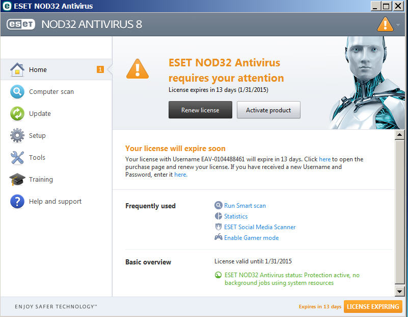 Manual Update Eset Nod32 Antivirus 6 64 Bit With Crack