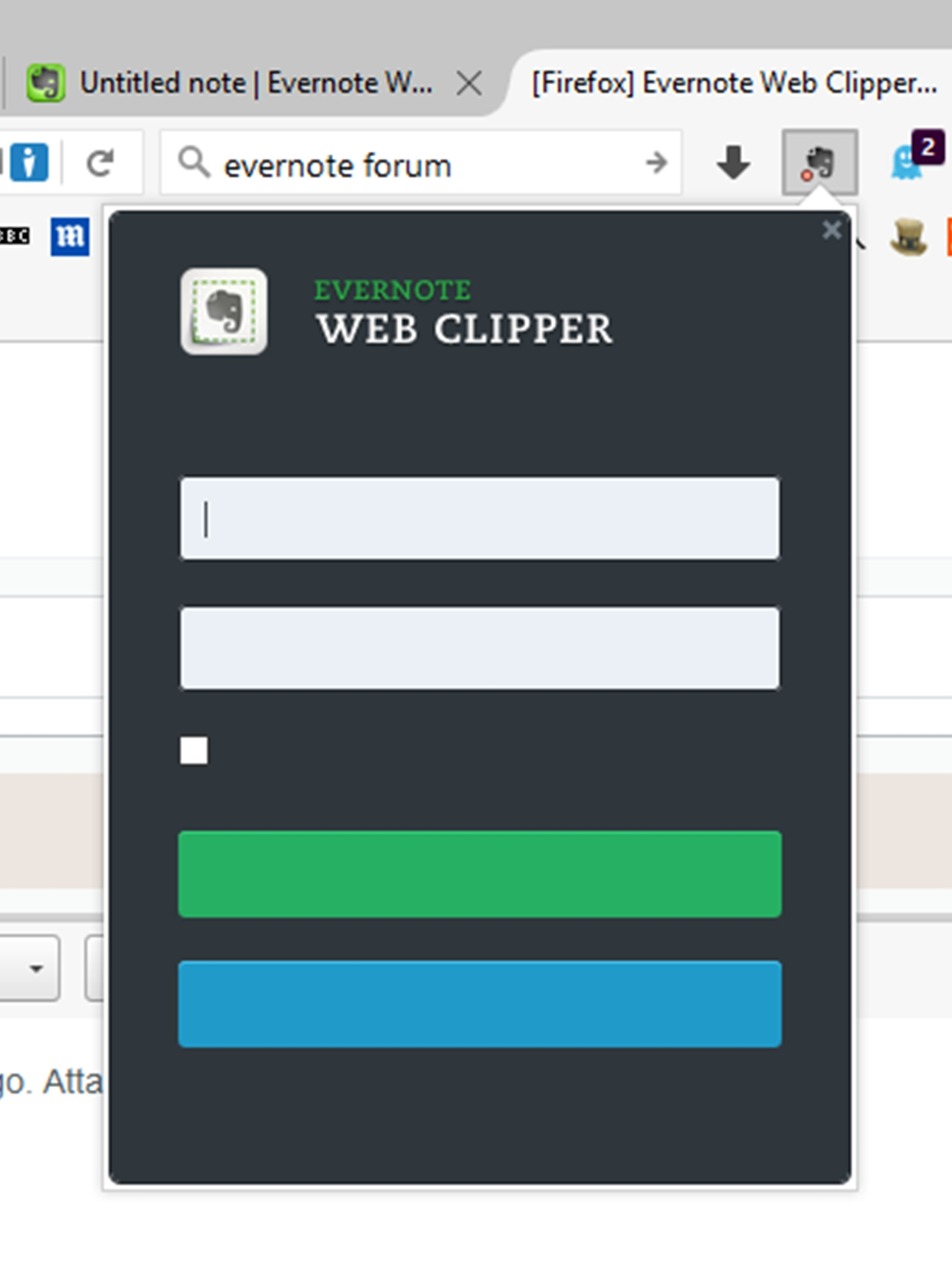 Firefox] Evernote Web Clipper 6 9 3 for Firefox released
