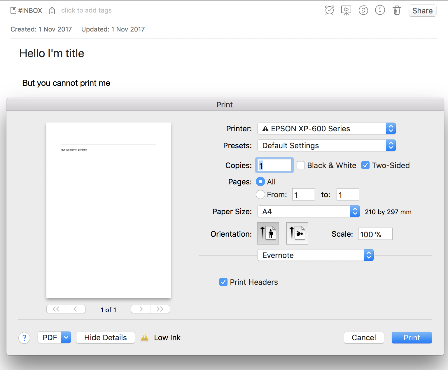 What Is Evernote For Mac