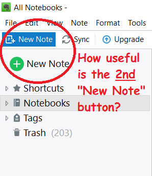 EN 6 9 7 6770 Win10 forgetful Focus - Evernote for Windows