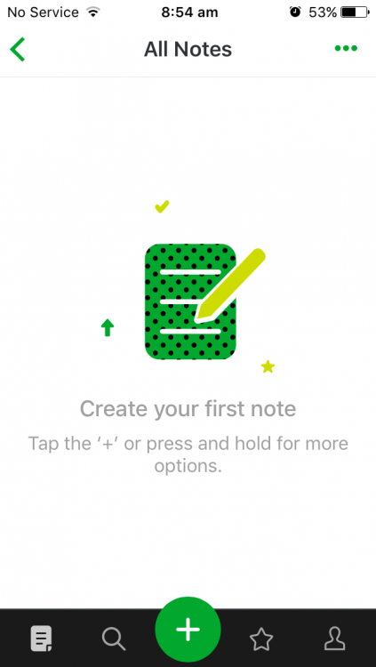 20181107 IMG_3575 evernote ios all notes not displaying by date.PNG