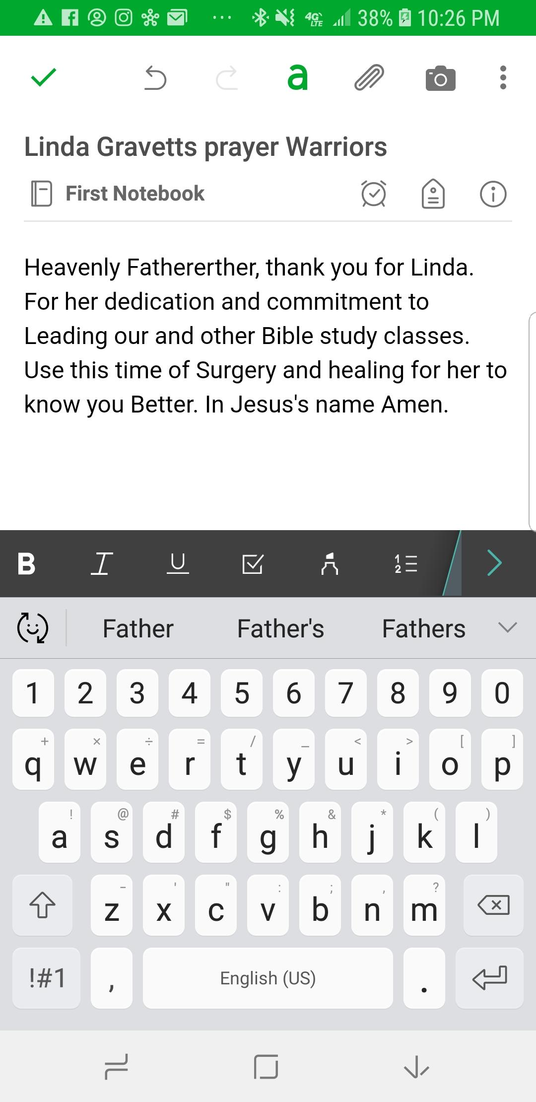 Evernote Android Typing Completely Glitchy?? - Evernote for