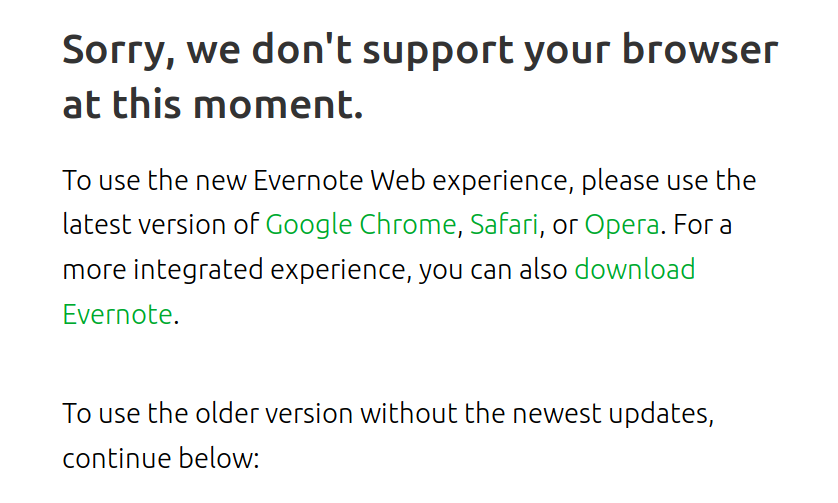 Firefox support for new web version updates - Web Client