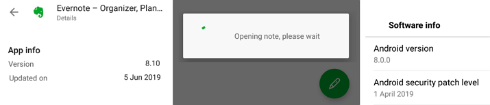 Serious lag when creating a new note and when opening any note on