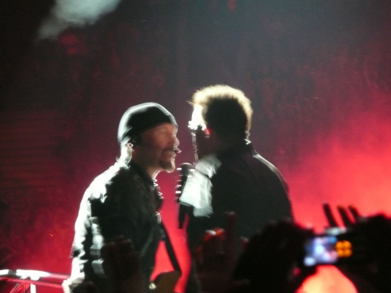The Edge + Bono (Brussels 22/9/2010)