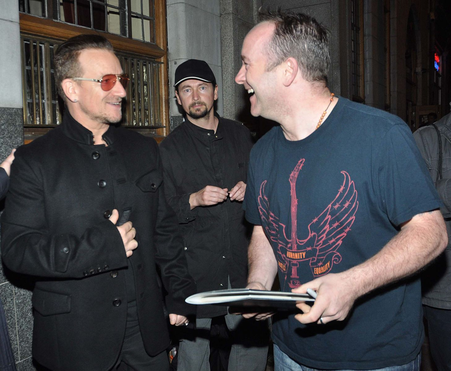 lol-ing with Bono