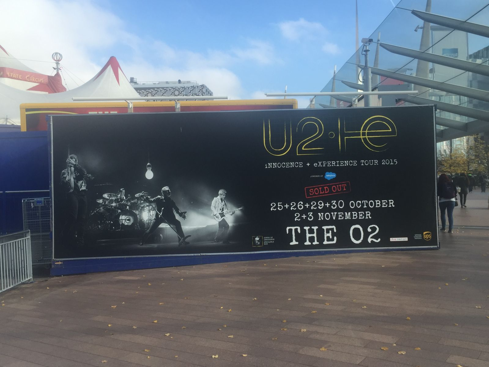 U2IE Tour London