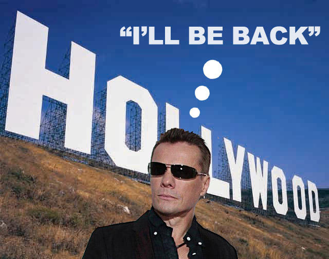 Larry Goes To Hollywood! (wrong band!)