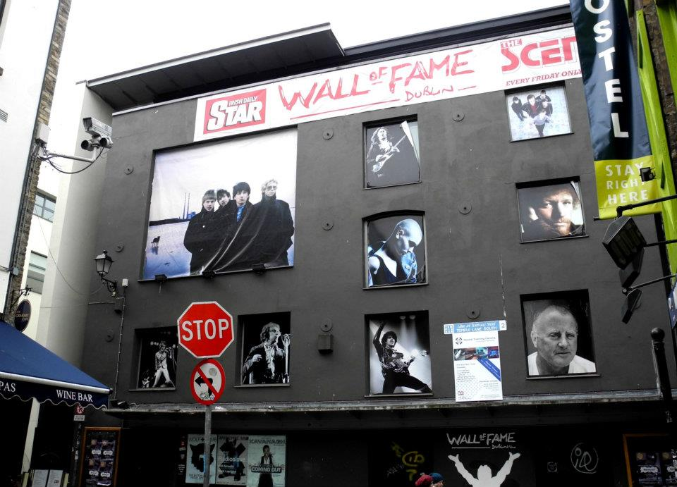Wall of Fame Dublin (April 2012 Trip)