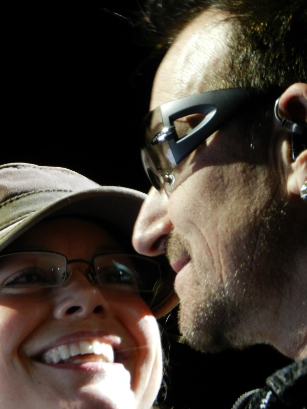 Bono and I in Denver 05-2011