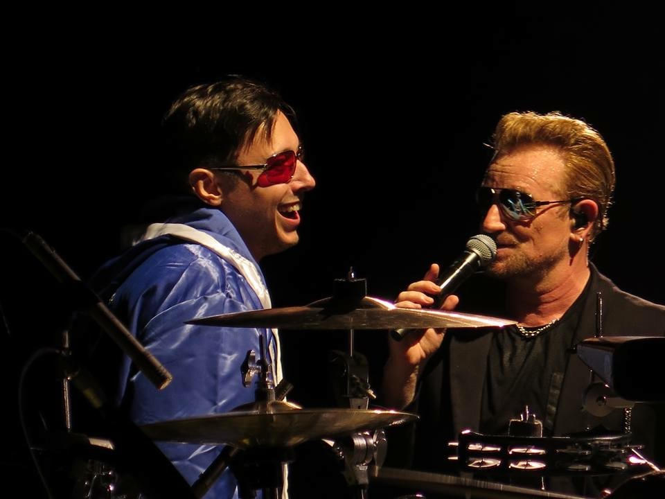 Dublin night 2 - Eliezer and Bono