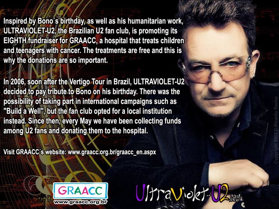 UltraViolet-U2 Fan Club Brazil campaign