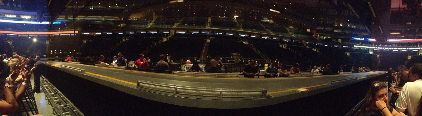 Panorama from the rail