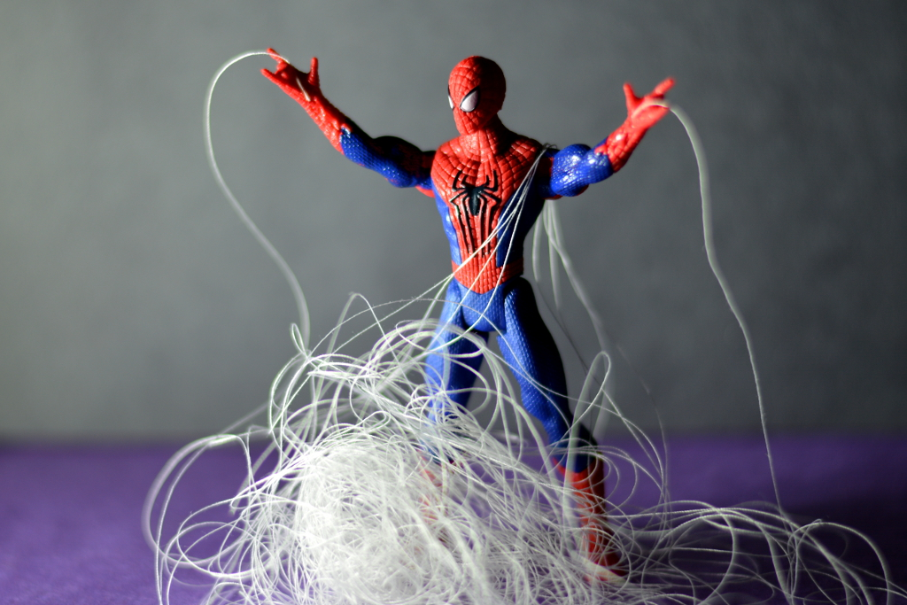 Web shooter malfunction