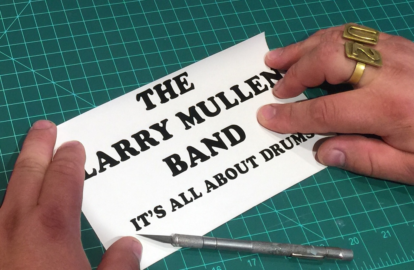 The Larry Mullen Band.
