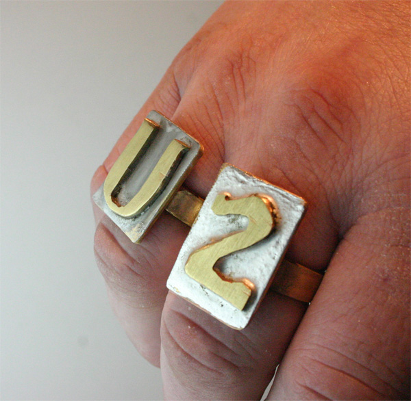 my U2 ring Set