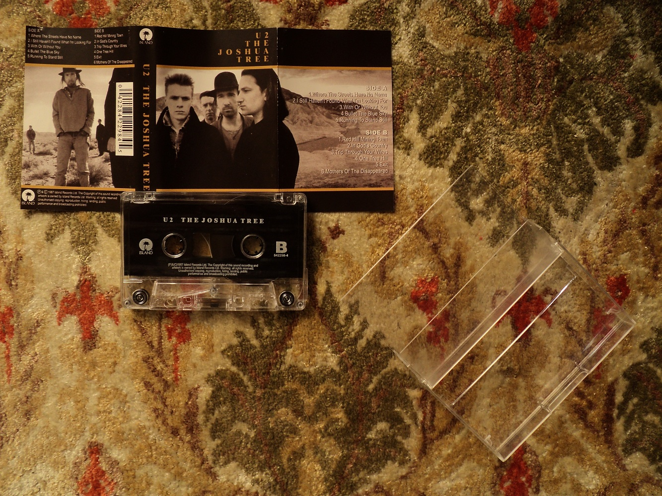 My Original - 1987 - The Joshua Tree Cassette - Front