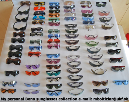 Bono sunglasses collection