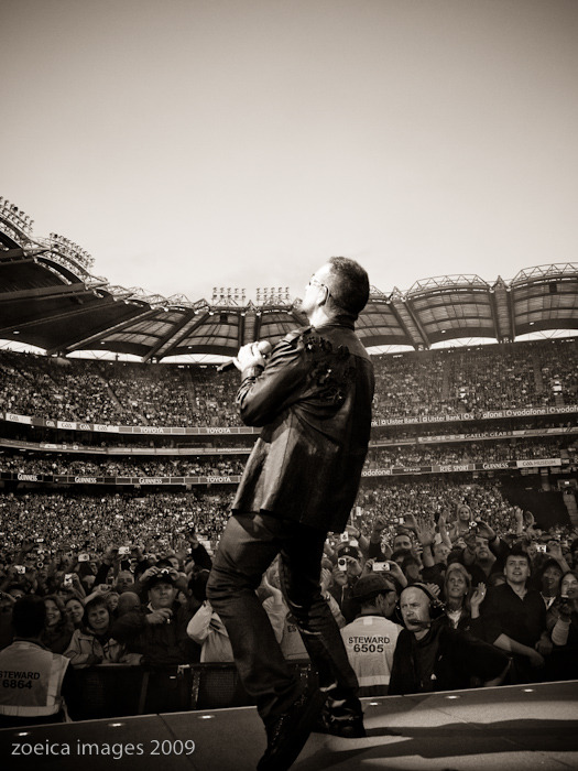 Bono - Dublin July 24th 2009 Croke Park