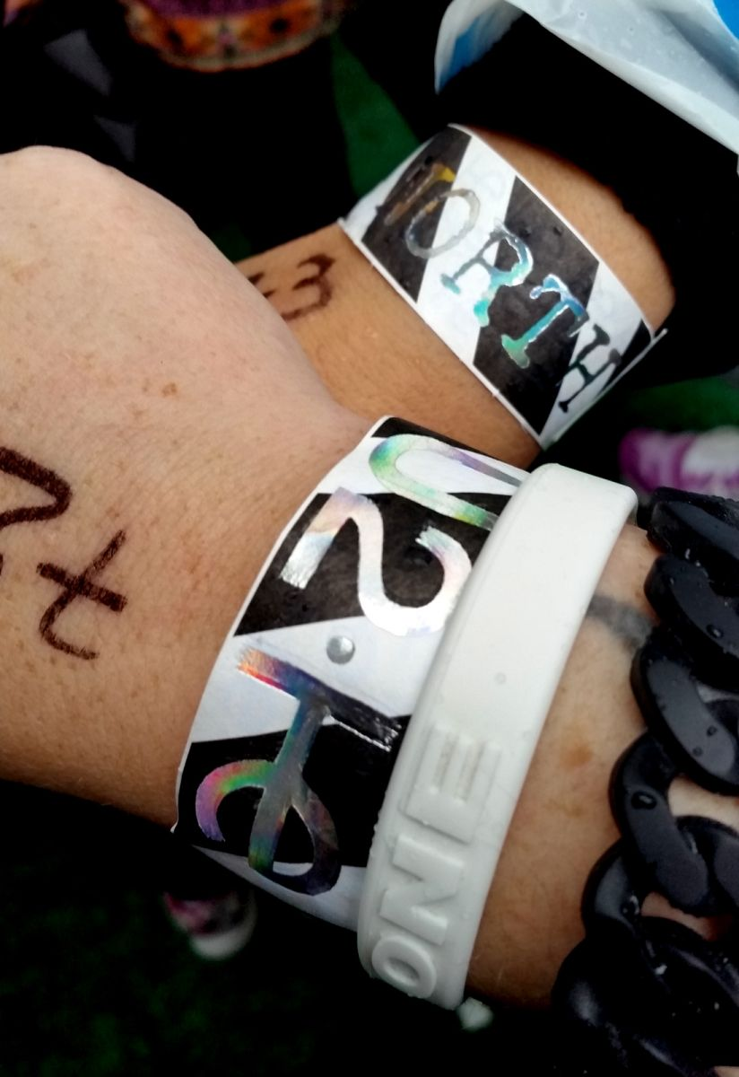 Our U2 IE Northside Wristbands...First Night Montreal