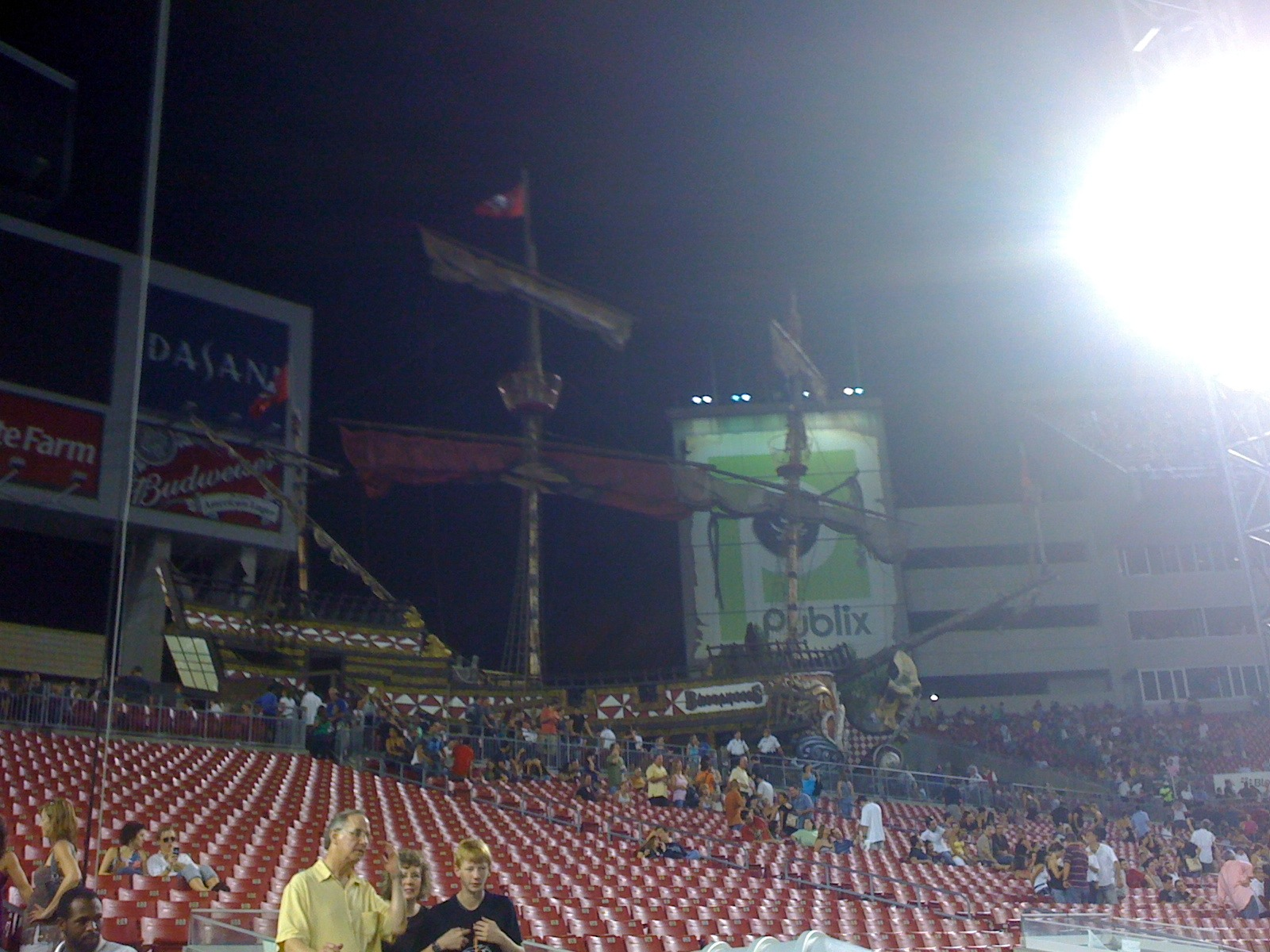 The Tampa Pirate Ship