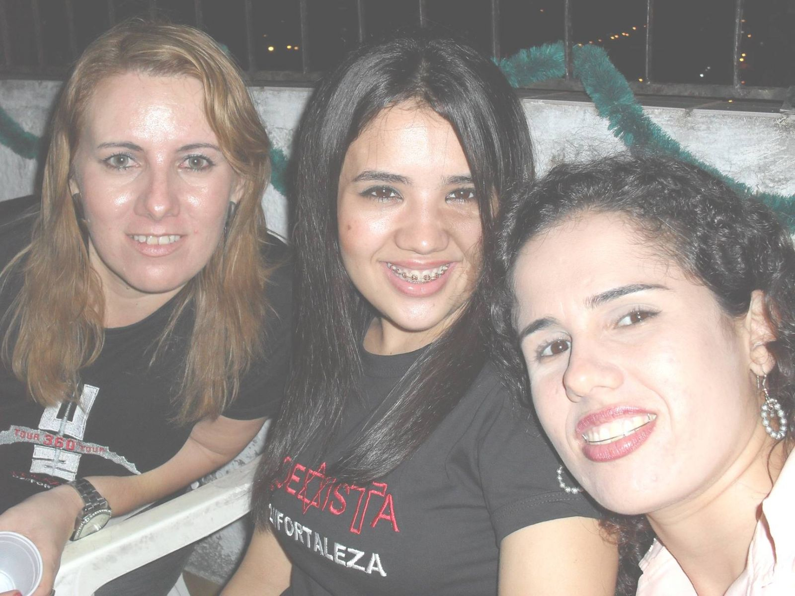 U2 girls of the city Fortaleza, Brazil