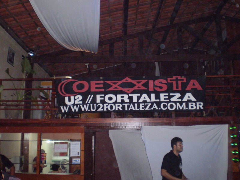 Flag U2 FORTALEZA in 2010