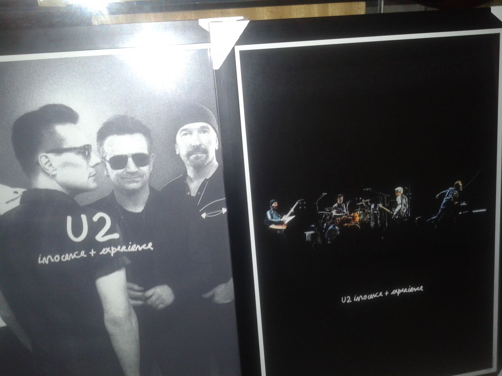 Striking visual iconography of the #U2ieTour #U2iePrints