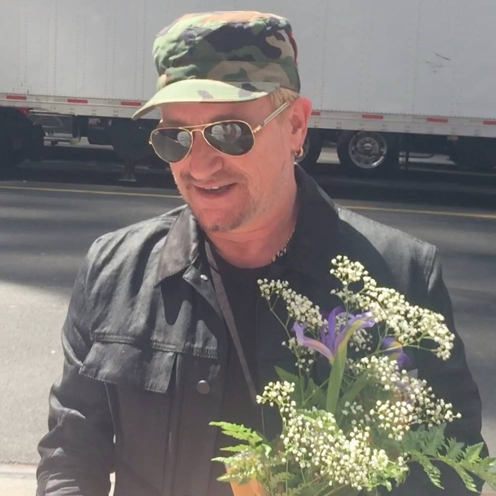 Bono Meet and Greet outside MSG7