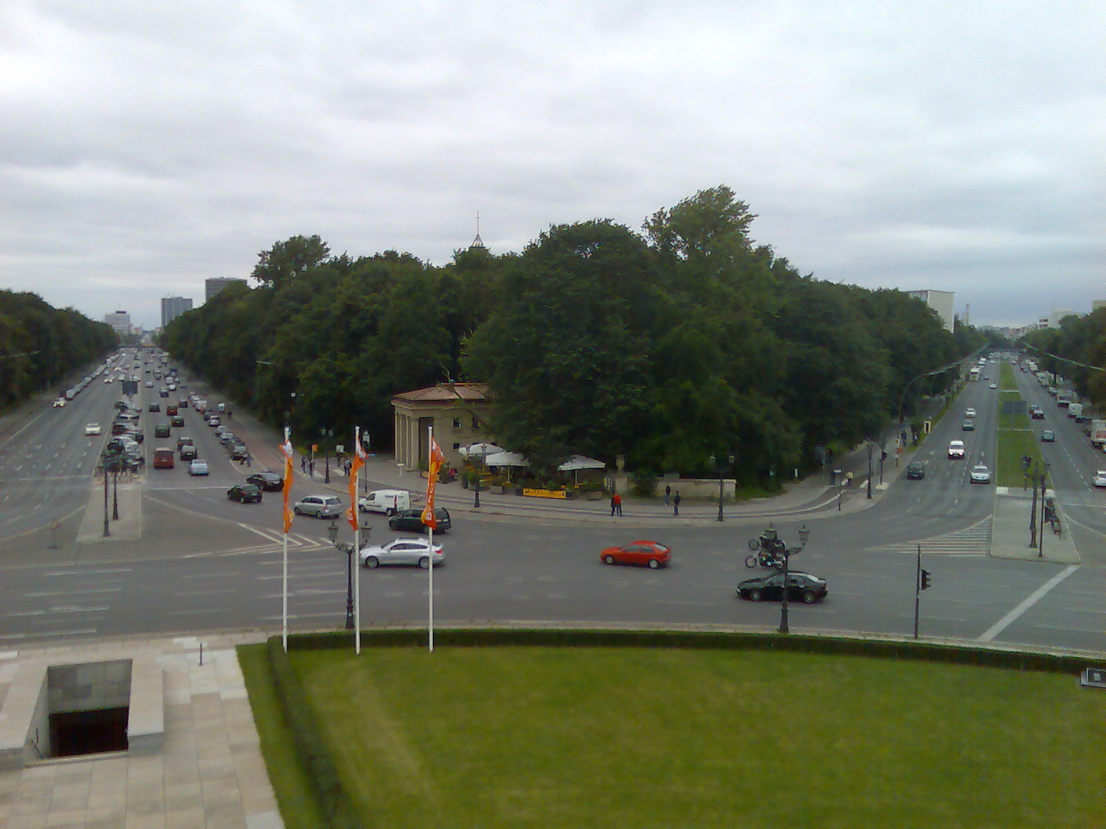 Berlin - view from Victory Monument