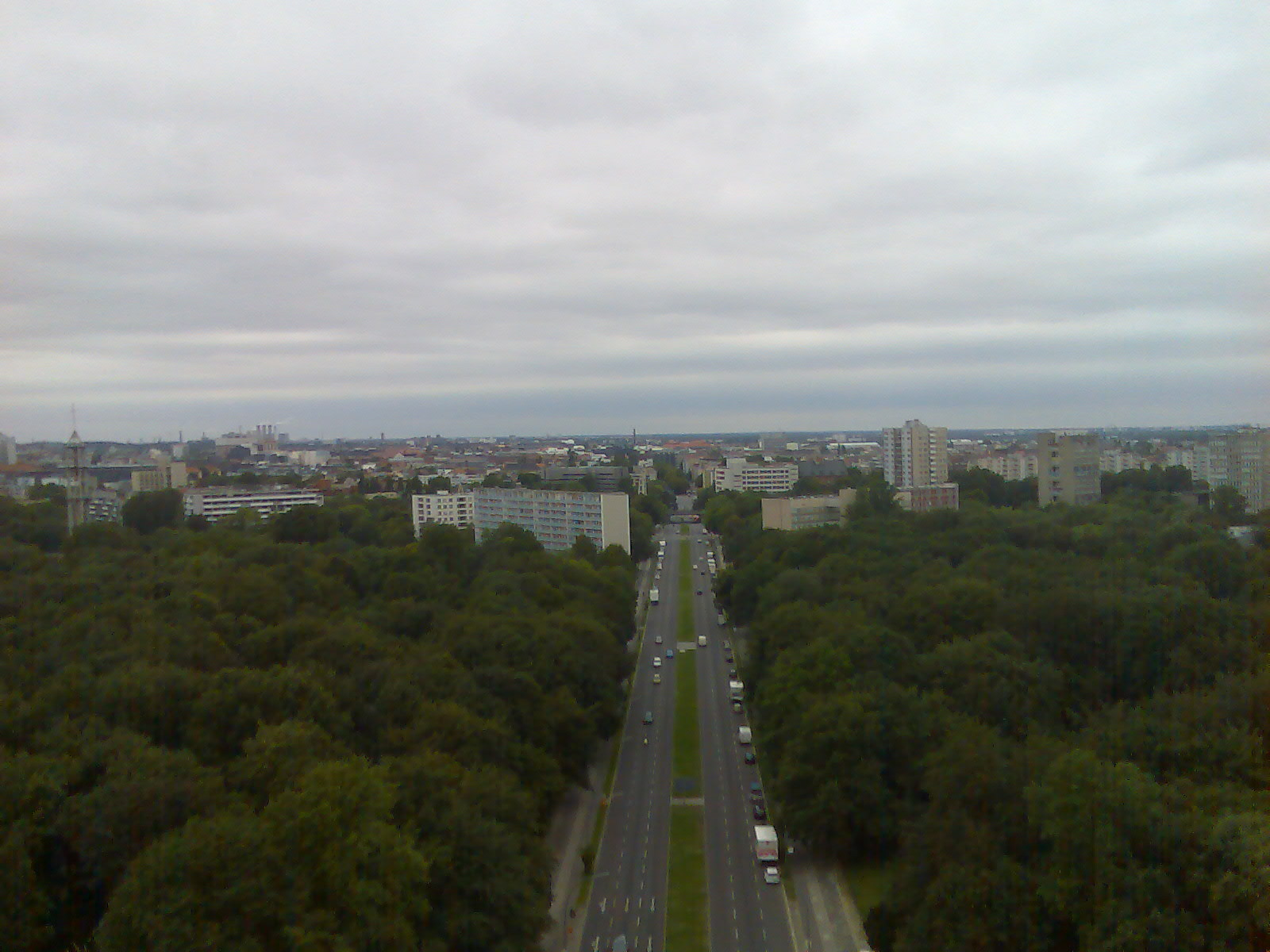 Berlin - view from Victory Monument (higher up)