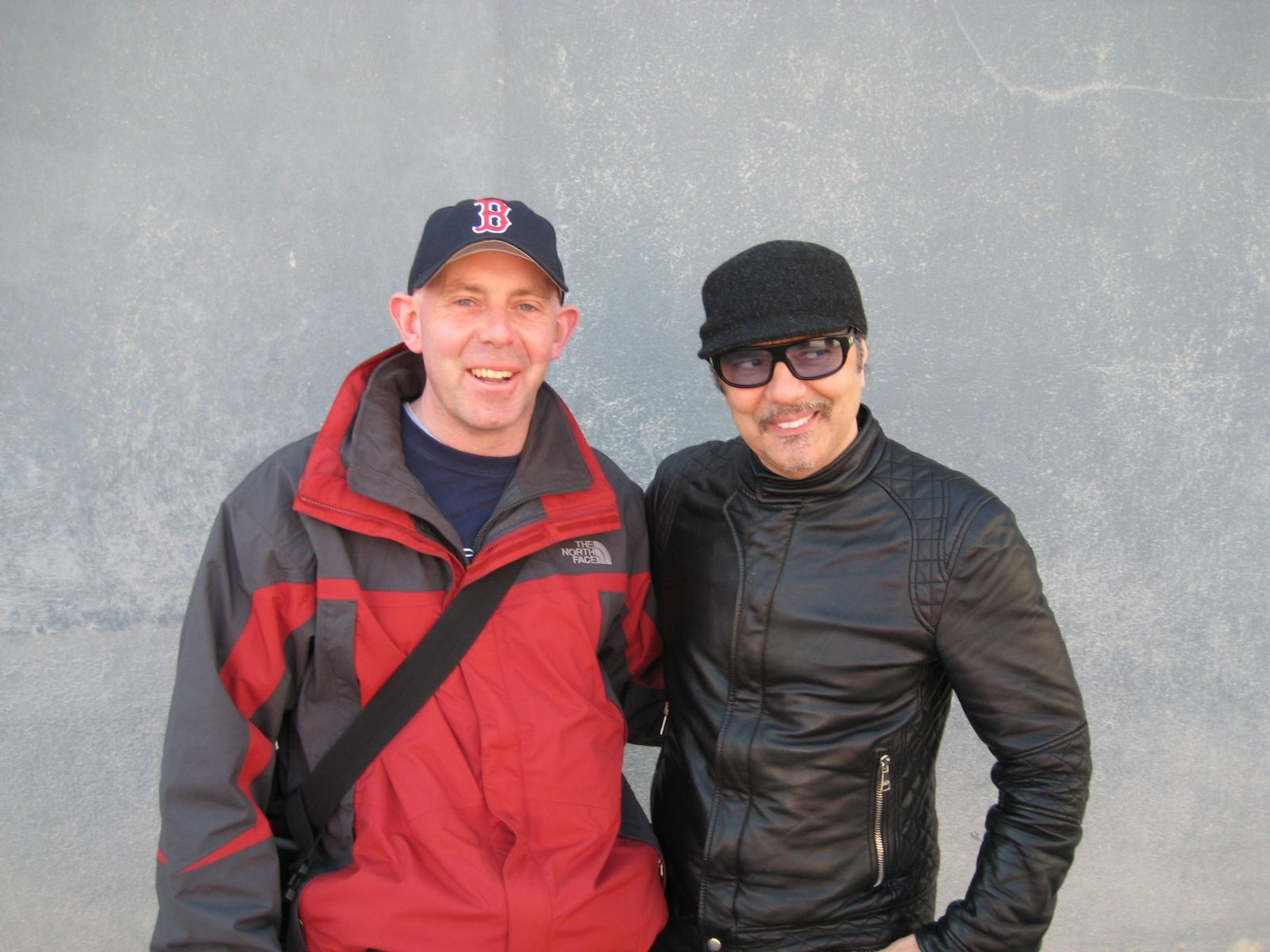 Me and Daniel Lanois, Dubs 2008