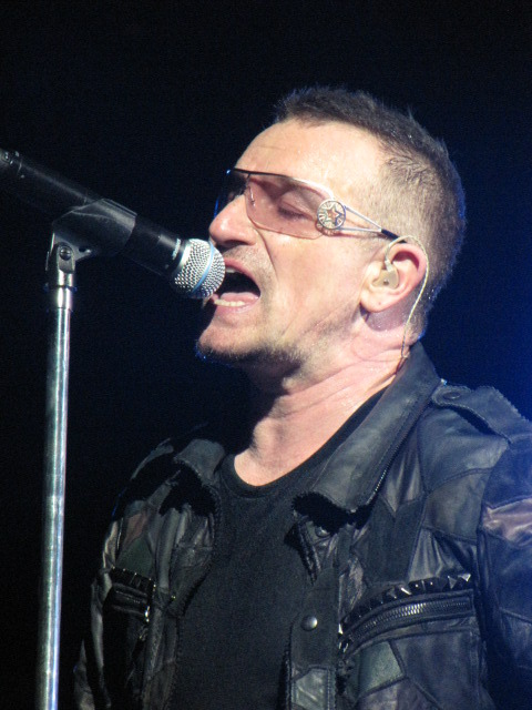 Bono Giants Stadium 9/24/09