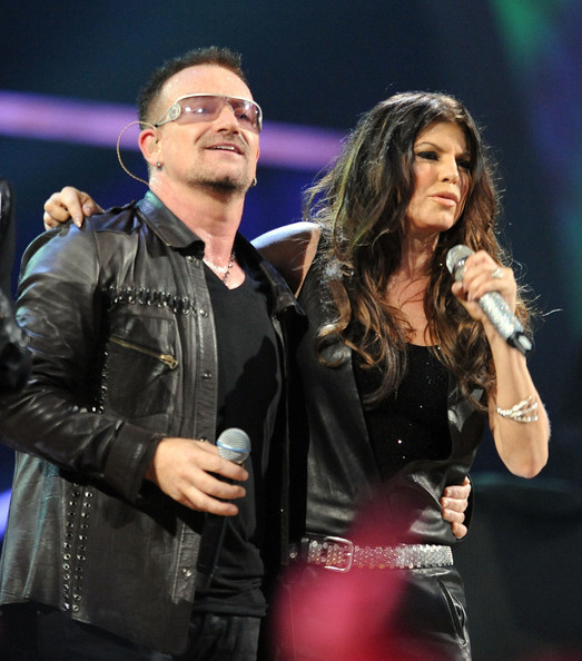 Bono & Ferge - Rock & Roll Hall of Fame Concert