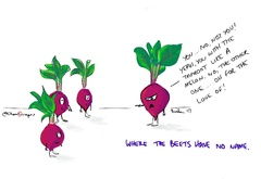 Where the beets have no name