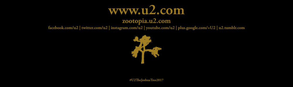 New Orleans 14 September #U2TheJoshuaTree2017 Live Thread Footer