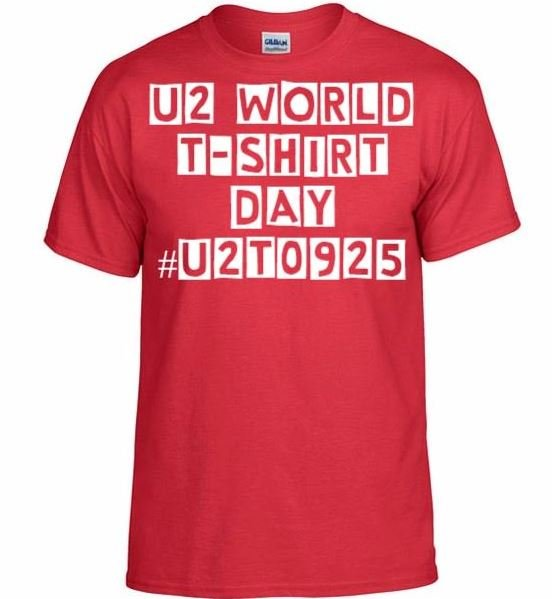 U2 World T-Shirt Day #U2T0925