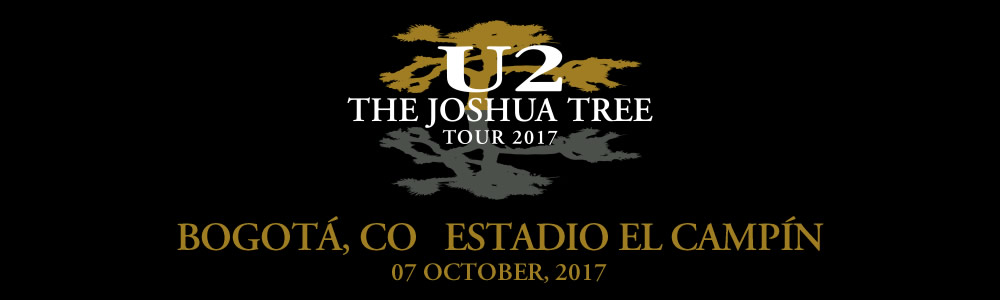 Bogotá 7 October #U2TheJoshuaTree2017 Live Thread Header